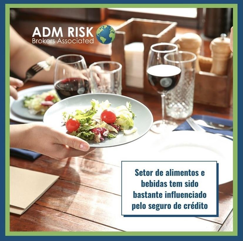 Setor de alimentos e bebidas tem sido bastante influenciado pelo seguro de crédito